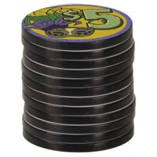 Black Edge Poker Chip