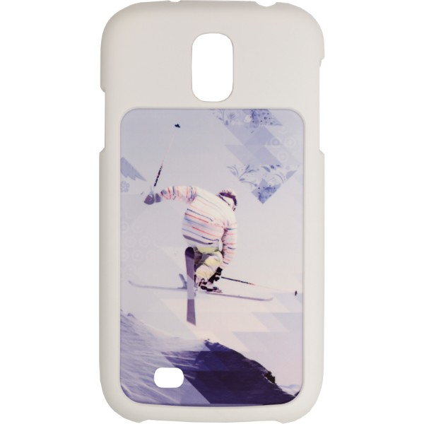 White Samsung Galaxy S4 Soft Touch Coated Hard Plastic Case