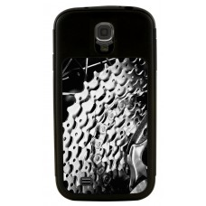 Black Galaxy S4 Impact Resistant Rubber Like Tpu Case