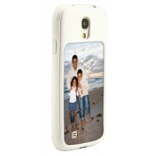 White Galaxy S4 Impact Resistant Rubber Like Tpu Case
