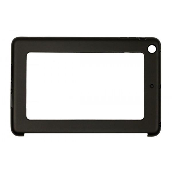 Black Ipad Air Mini Impact Resistant Rubber Like Tpu Case