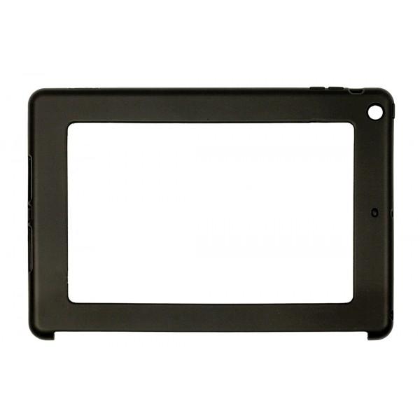 Black Ipad Air Impact Resistant Rubber Like Tpu Case