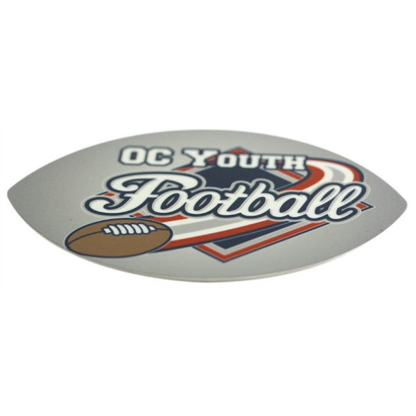 Football Aluminum Magnet