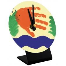Round Desk Clock
