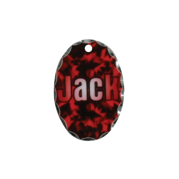 Small Oval Photo Charm