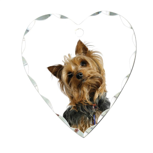 Small Heart Photo Charm