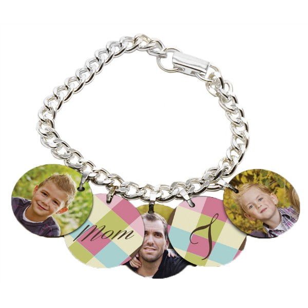Charm Bracelet With Charms