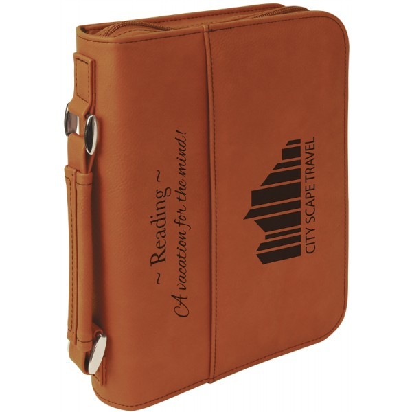 Rawhide Leatherette Book/Bible Cover