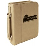 Light Brown Leatherette Book/Bible Cover