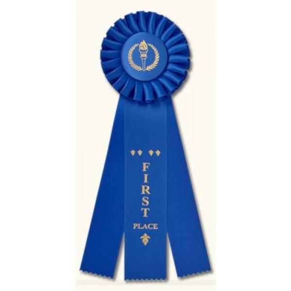 Champion Rosette Award Ribbons