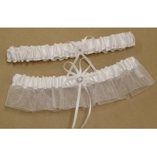 Lucky Horseshoe Garter Set