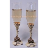 Country Flair Toasting Set