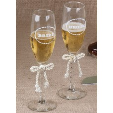Silver Horseshoe Toasting Set