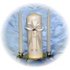 Hats Off Unity Candle Set