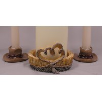 Country Flair Candle Stands