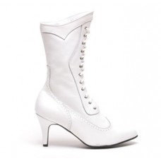 Altar Bridal Boots, White