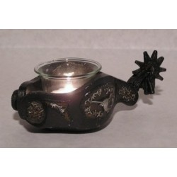 Steer Jingle Bob Spur Votive