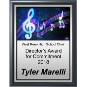 Music Theme Plaques