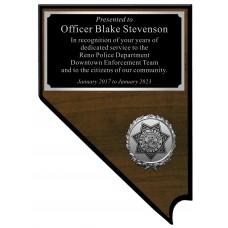 Downtown Enforcement Team Nevada Plaque