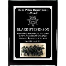 SWAT Plaque