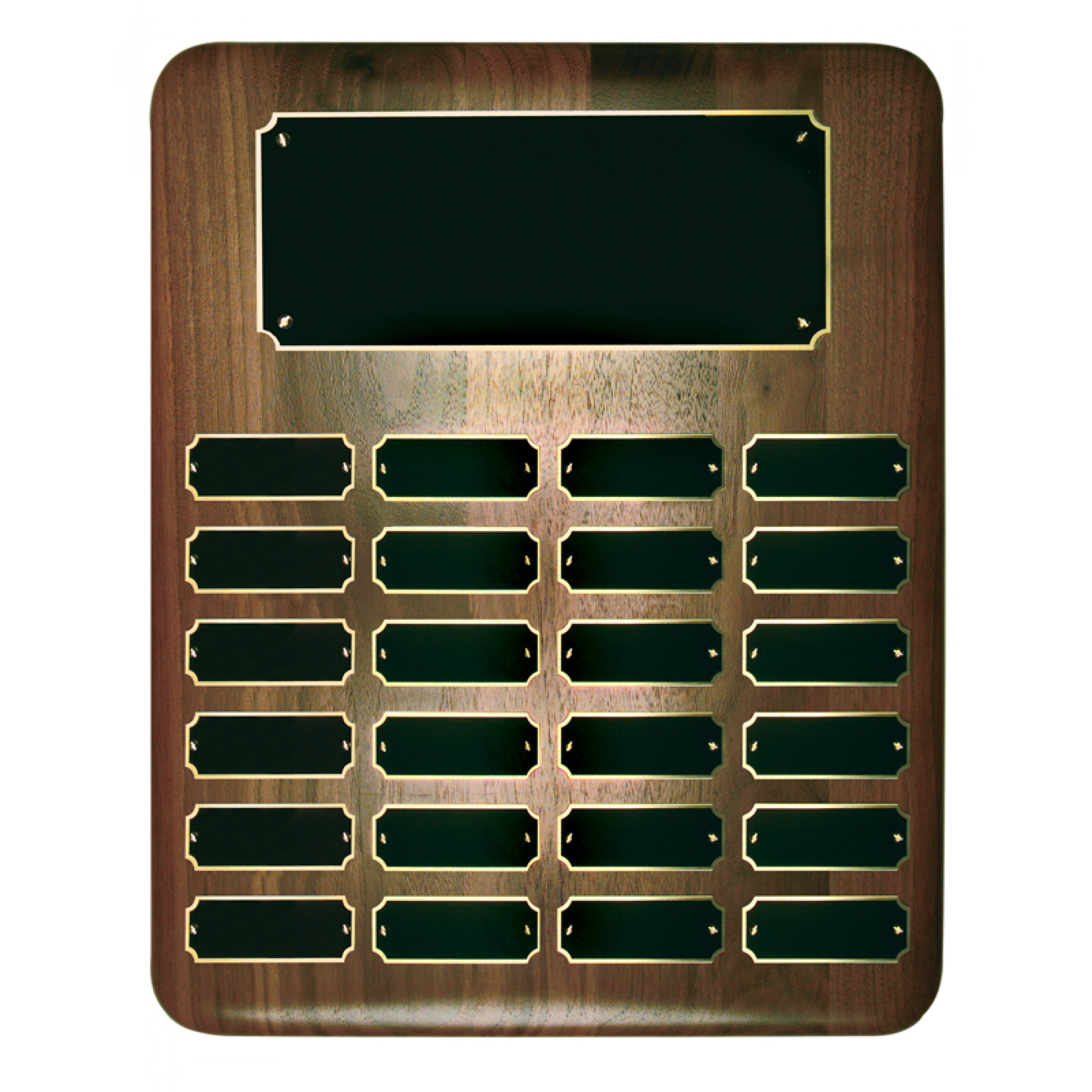 Perpetual Plaques with Header Plates