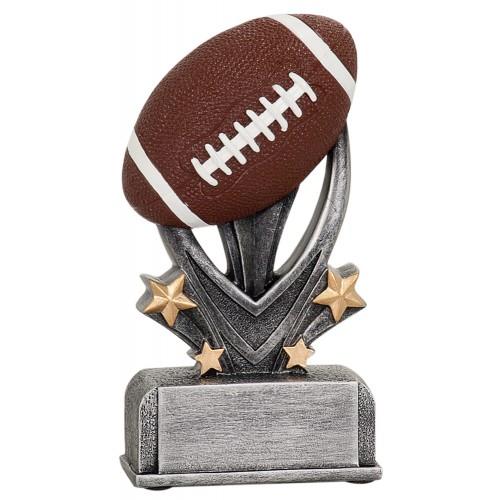 5 1/2 inch Football Varsity Sport Resin