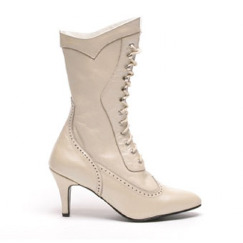 Altar Bridal Boots, Ivory